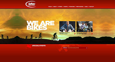 Bike Doctor Web Site