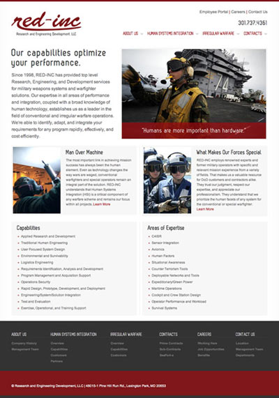RED-INC Web Site